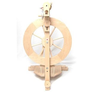 Folding Wheel Double Treadle with Complete Kit