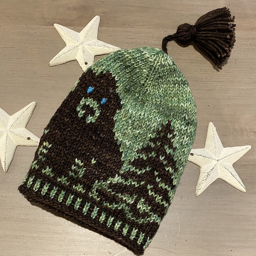 View larger image of Bear in the Woods Hat PDF