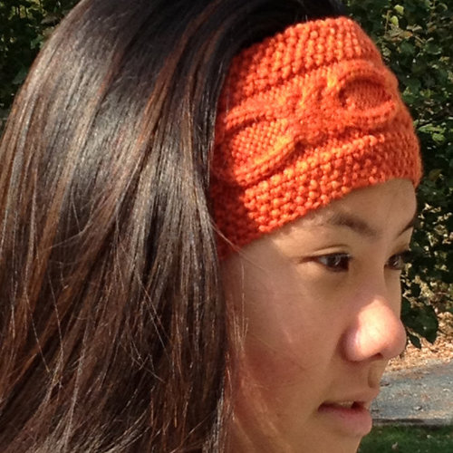 View larger image of Knotty Cabled Earwarmer PDF