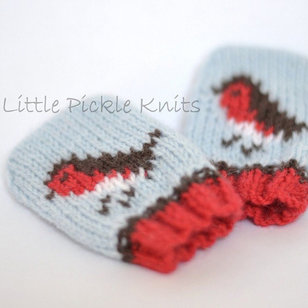 Little Robins Baby Mitts PDF