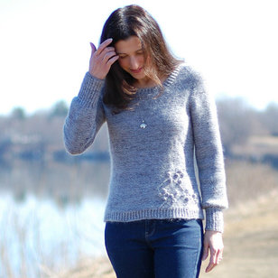 Branches in Bloom Pullover PDF
