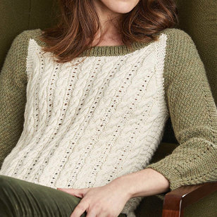 5142 Cabled Sweater
