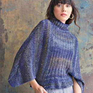 1304 Ribbed Batwing Pullover PDF