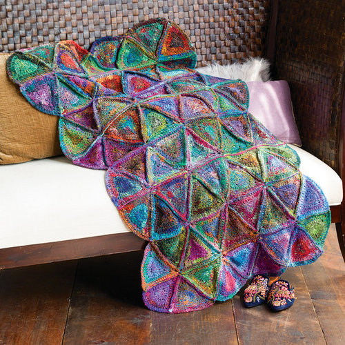 View larger image of 1318 Granny Quilt Afghan PDF