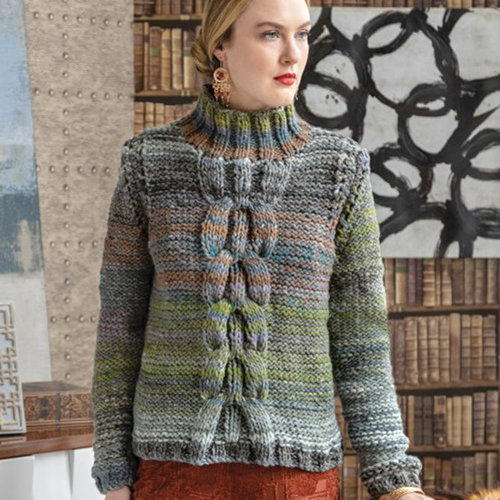 View larger image of 1505 Center-Cable Pullover PDF