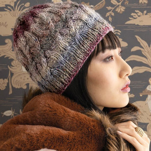 1715 Cabled Hat PDF