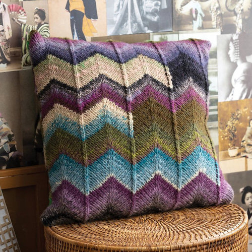 View larger image of 1722 Zig Zag Pillow PDF
