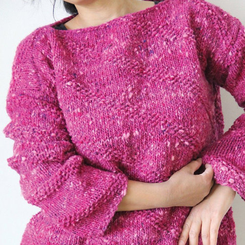 View larger image of 1725 Slant Stitch Pullover PDF