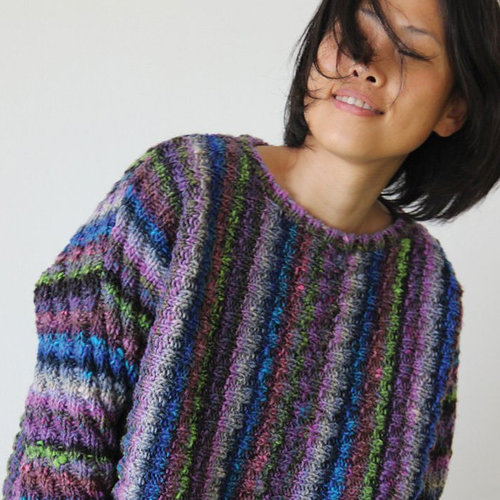 View larger image of 1726 Diagonal Texture Pullover PDF