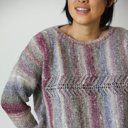 View larger image of 1728 Sideways Knit Pullover PDF