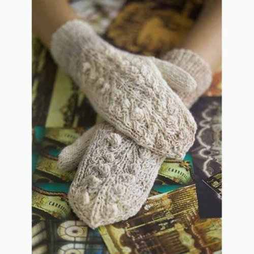 View larger image of Bobble and Vine Mittens PDF