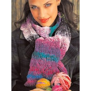 Reversible Cabled Scarf (Free)