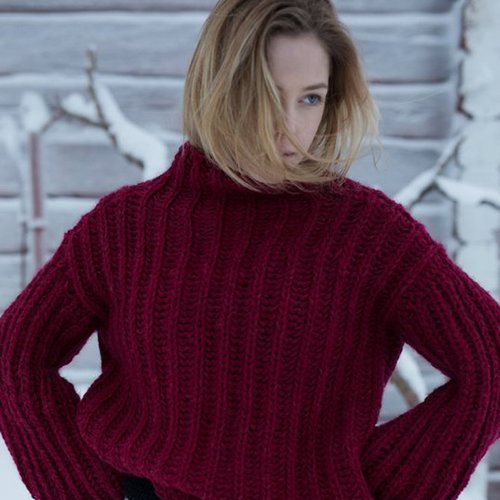 View larger image of 0318T Natura Short Women's Brioche Pullover (Free)