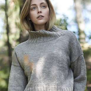 0418S Nordic Wool Womens Knitted Pullover (Free)