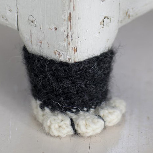 View larger image of 3118T Natura Cat Paw Chair Socks (Free)