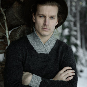 Men's Traditional Jussie Pullover in 7 Brothers (Free)