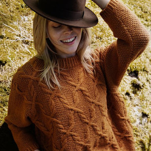 Silvia Pullover in Nordic Wool (Free)