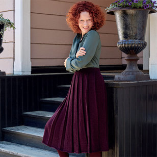 Tanssien Pleated Skirt in Nalle (Free)