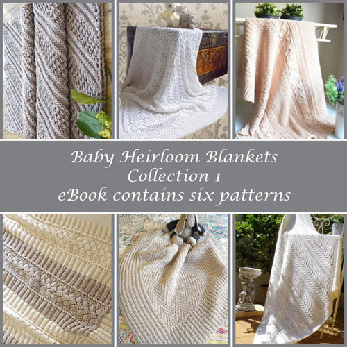 View larger image of Baby Heirloom Blankets - Collection 1 eBook