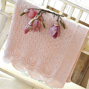 P119 Butterfly Kisses Baby Blanket PDF