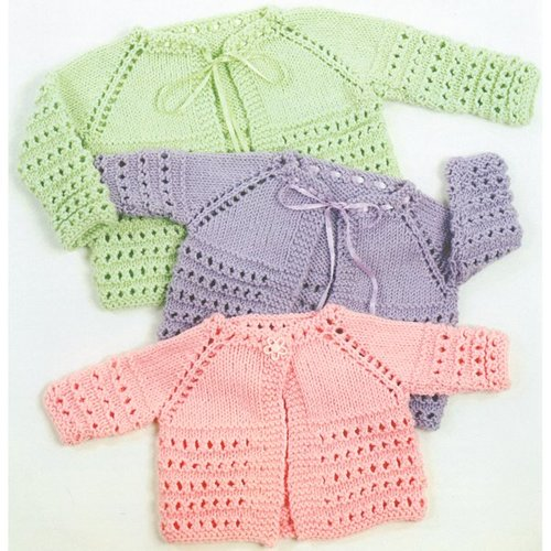 View larger image of 1354 Top Down Baby Jacket