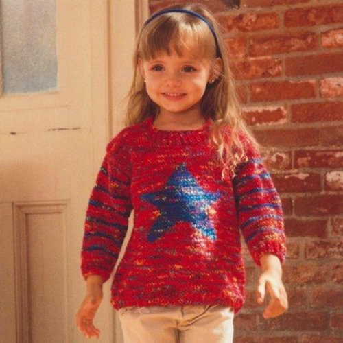 View larger image of 2641 Kid's Star Pullover