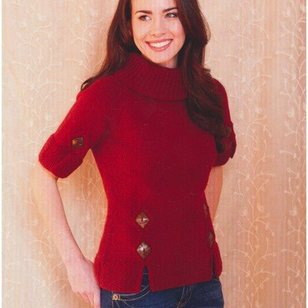 2760 Woman's Short Sleeve Pullover