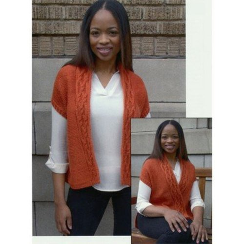 View larger image of 2815 Women's Cabled Vest