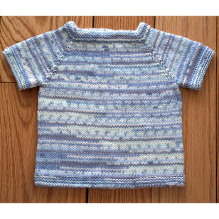 2833 Top Down Baby Pullover PDF