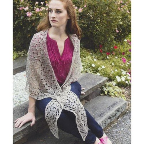 View larger image of 2968 Butterfly Stitch Shawl