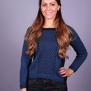 3012 Women's Two Tone Pullover