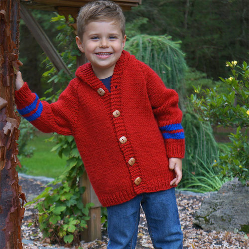 View larger image of 3224 Top Down Child's Sweater PDF