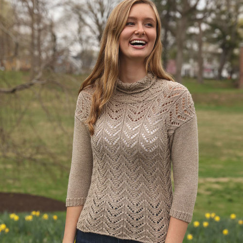 View larger image of 3445 Lace Pullover PDF