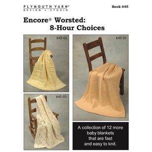 645 Encore Worsted: 8-Hour Choices PDF