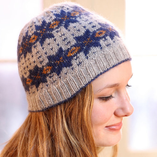 View larger image of F794 Incan Spice Fairisle Hat (Free)