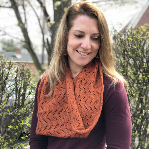 View larger image of F930 Electra Lite Chevron Lace Cowl (Free)