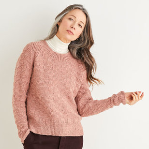 10178 Checked Raglan Sweater in Saltaire PDF