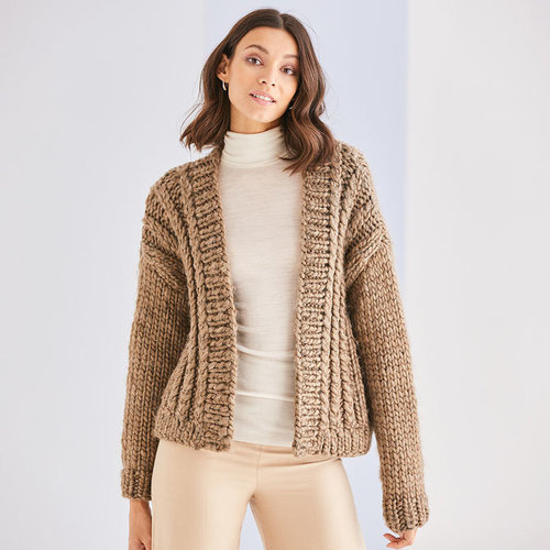 View larger image of 10189 Ribbed Cardigan in Adventure PDF