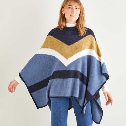 View larger image of 10205 Color Block Poncho Kit