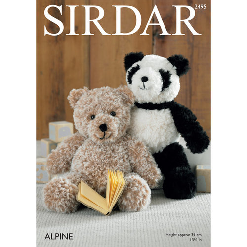 View larger image of 2495 Panda and Teddy Bear PDF
