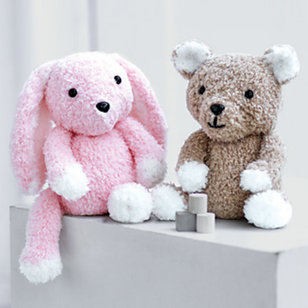 2521 Teddy and Bunny Toy in Snuggly Bunny PDF
