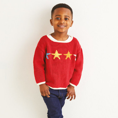 View larger image of 2556 Kids Star Sweater in Replay PDF