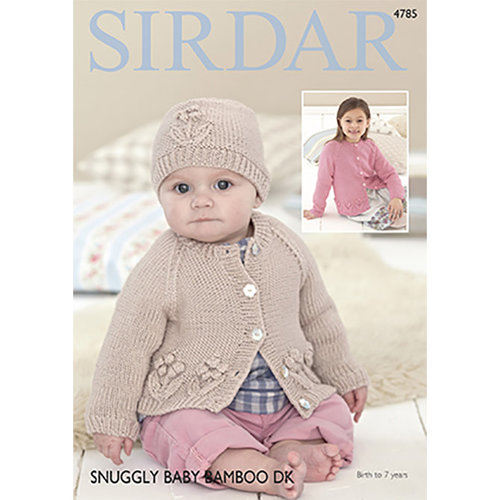 View larger image of 4785 Cardigans & Hat
