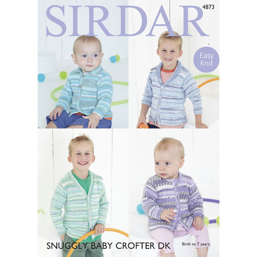 View larger image of 4873 Children's Cardigans PDF