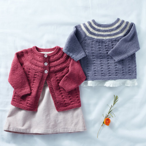 View larger image of 5291 Cardigan and Pullover in Snuggly DK PDF