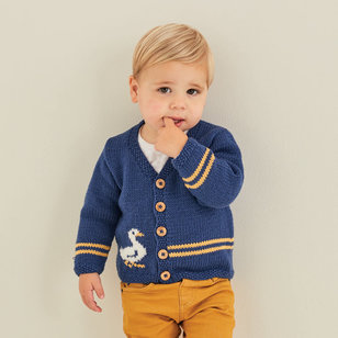 5376 Duck Cardigan and Blanket PDF