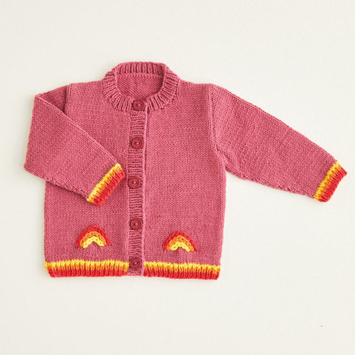 View larger image of 5412 Rainbow Bomber Jacket & Dungarees in Snuggly DK PDF