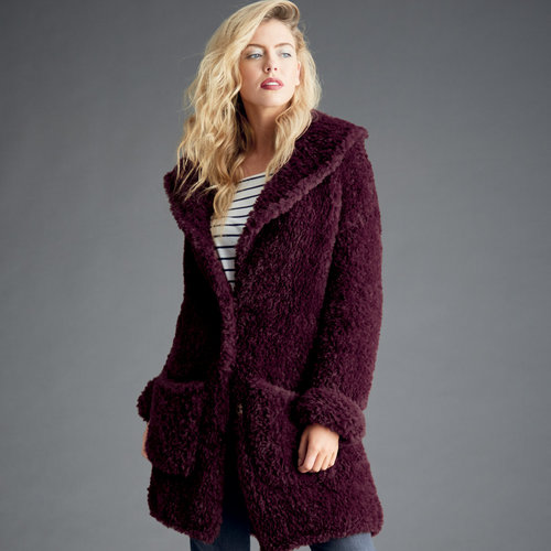 View larger image of 8282 Teddy Bear Coat in Alpine PDF
