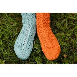 Socks the Easy Way - Toe up Two at a Time (IP)