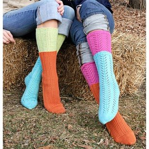 9806 Two-For-One Socks